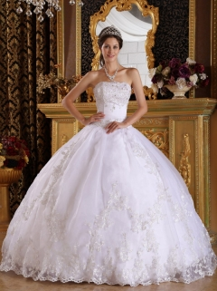 White Quinceanera Dresses,Cheap White Sweet 16 Dresses 2014 & 2013