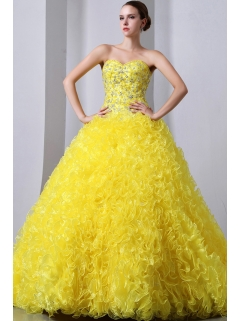 Yellow Quinceanera Dresses,Pretty Light Yellow Quinceanera Dresses ...