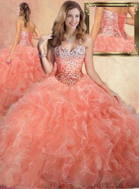 Peach XV Dresses