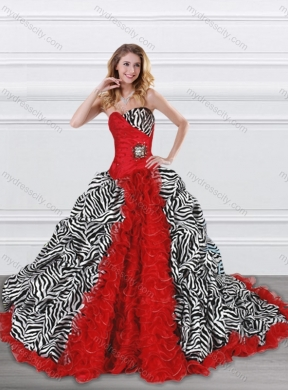 a3a4efb8e5 Print Quinceanera Dresses (70)