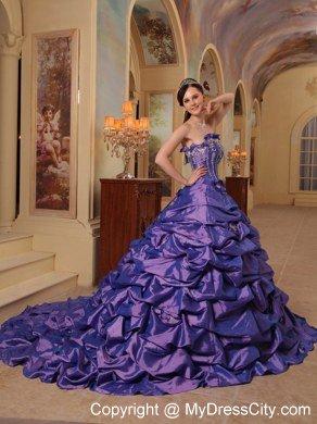 Long quinceanera dress