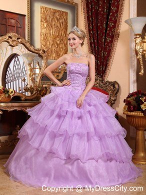 e7c3658b2b2 Super Sweet Classic Create Your Own Lavender Quinceanera Dresses ...