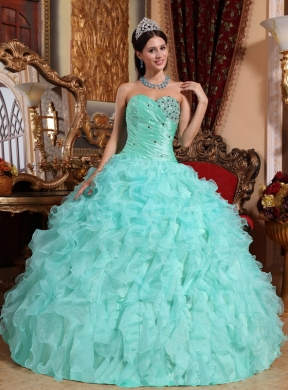 Teal Green Quinceanera Dresses - Missy Dress