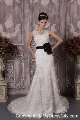 Black Sash On Wedding Dress Meaning