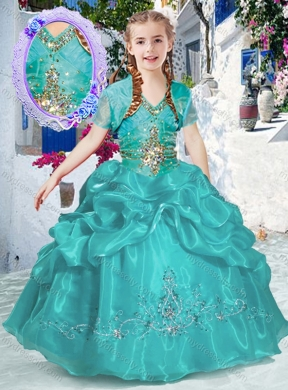 Turquoise Pageant Dresses