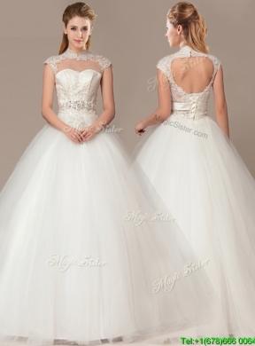 High Waisted Wedding Dresses