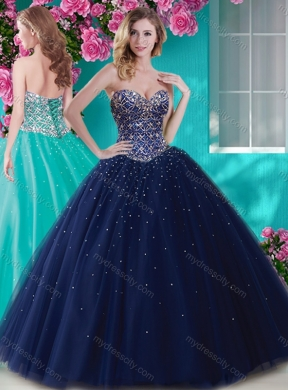 Light Purple And White Quinceanera Dresses