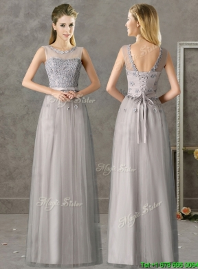 Collection Grey Long Dress Pictures - Reikian