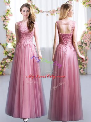 157c7673ec9 ... Quinceanera Court Dresses Zipper Chiffon Short Sleeves Floor Length  US   115.15. Cute Scoop Sleeveless Tulle Dama Dress Lace Lace Up  US  113.66