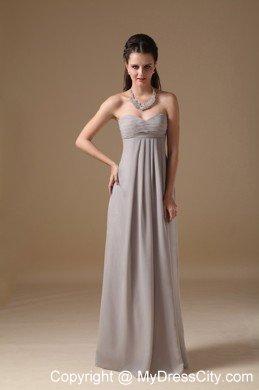 Simple Grey Dress