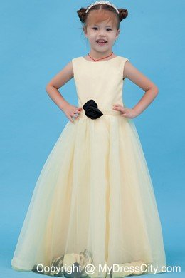 Handle flowers for light yellow scoop tulle flower girl dress handle flowers for light yellow scoop tulle flower girl dress mightylinksfo