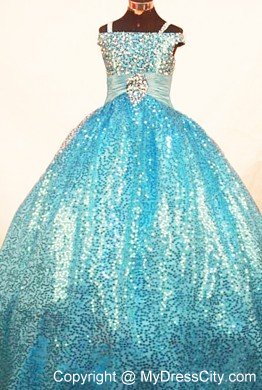 Glitz long pageant dresses