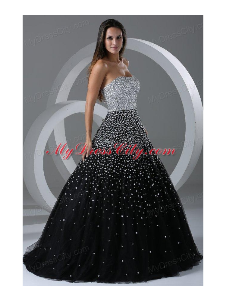 Black Ballroom Gowns