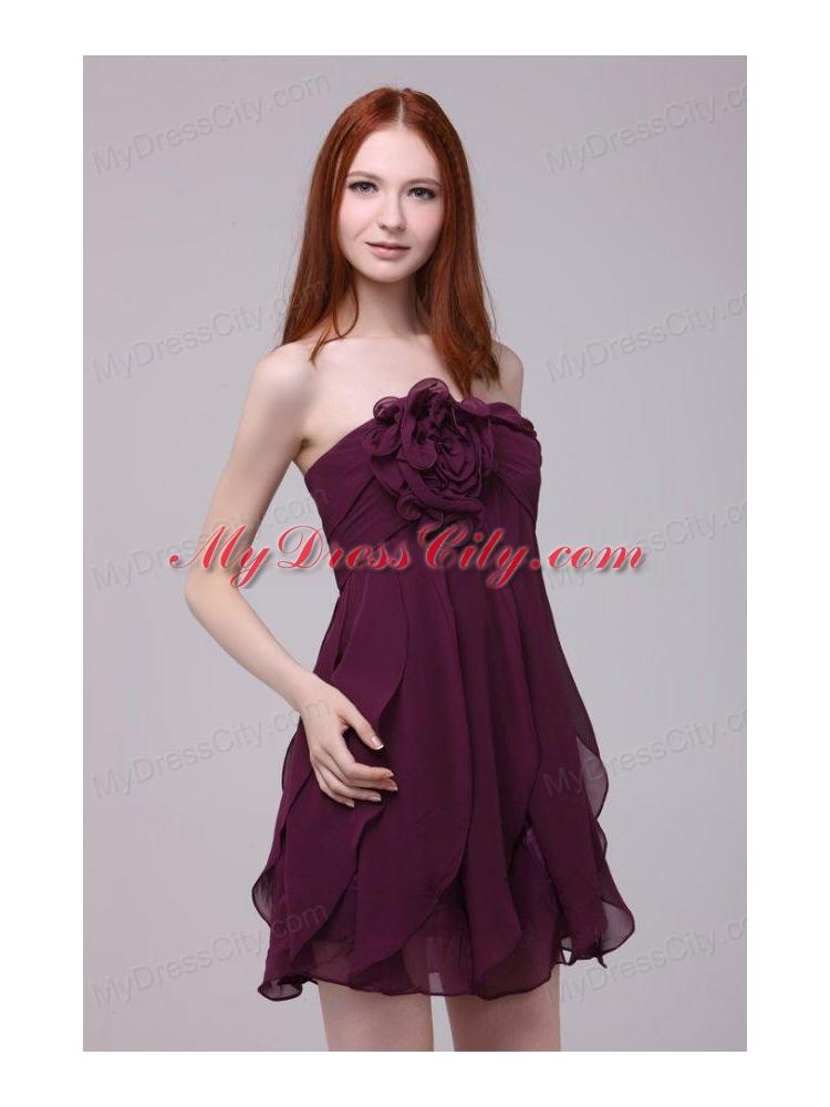 Dark Short Prom Dress