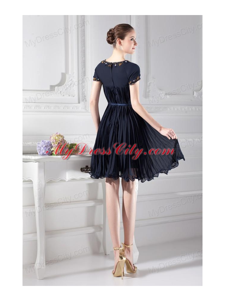 Homecoming Dresses With Sleeves And Knee Length - Holiday Dresses