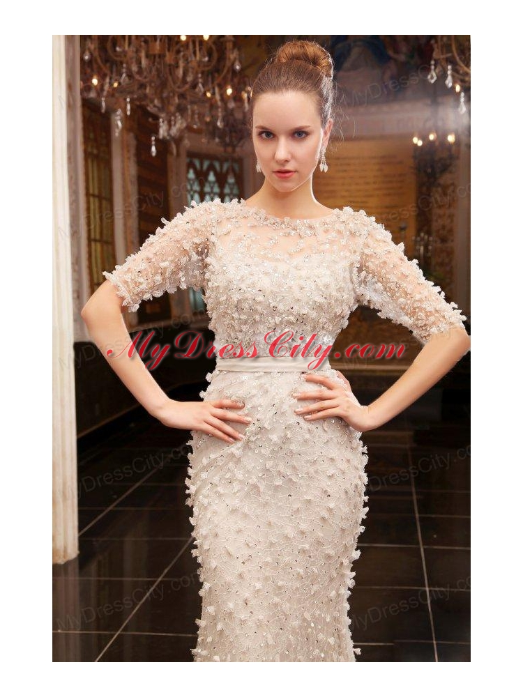 zipper up wedding dress