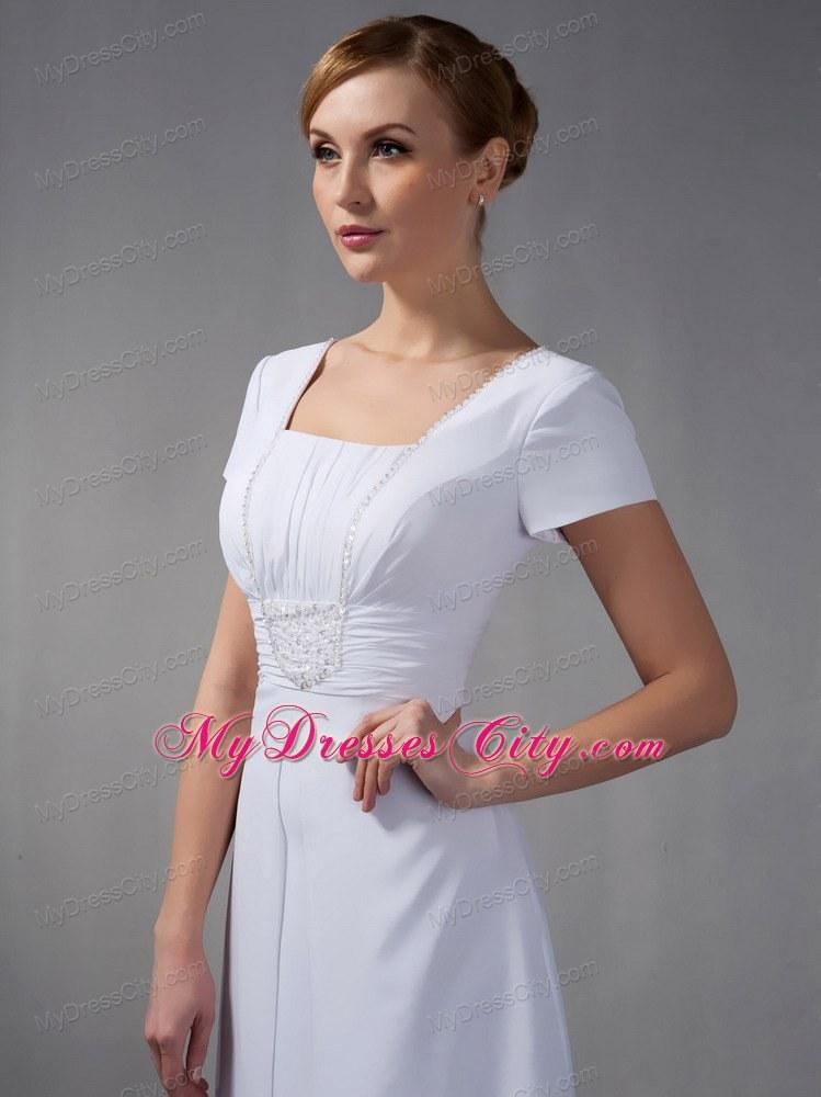 White Beaded Dress
