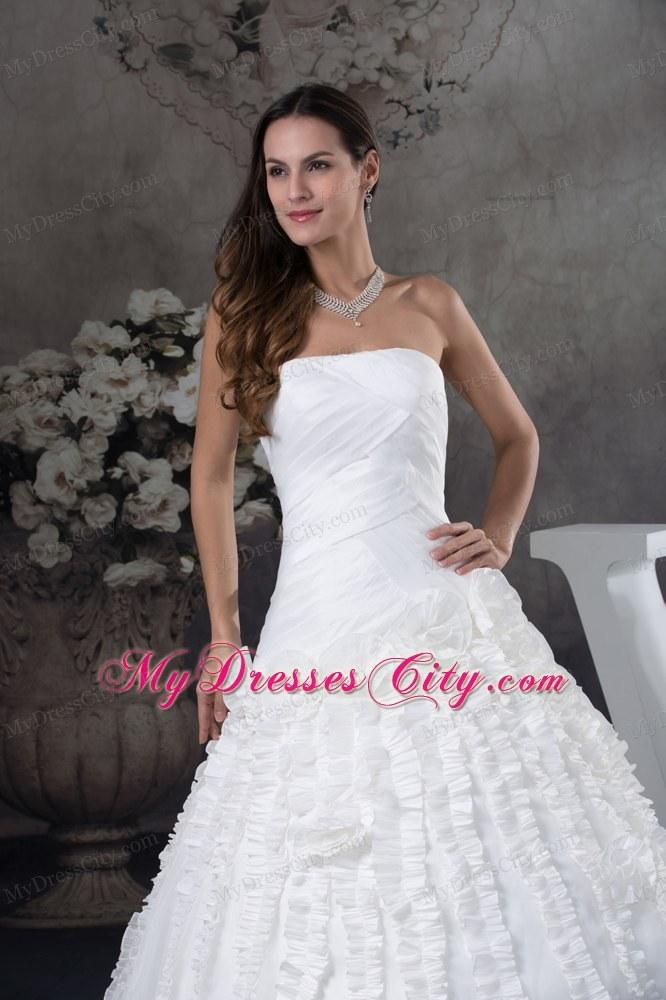 Strapless Wedding Dress Jewelry