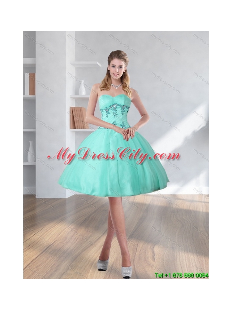 Turquoise Prom Dresses 2018 High Low 12