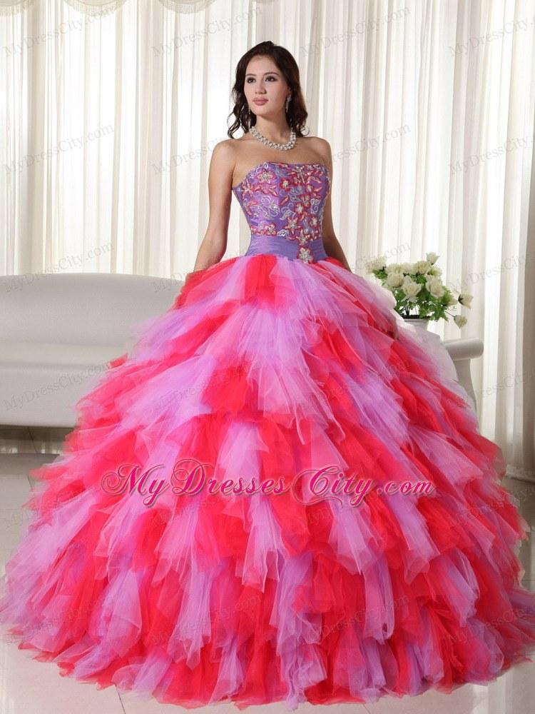 Spanish Sweet 16 Dresses