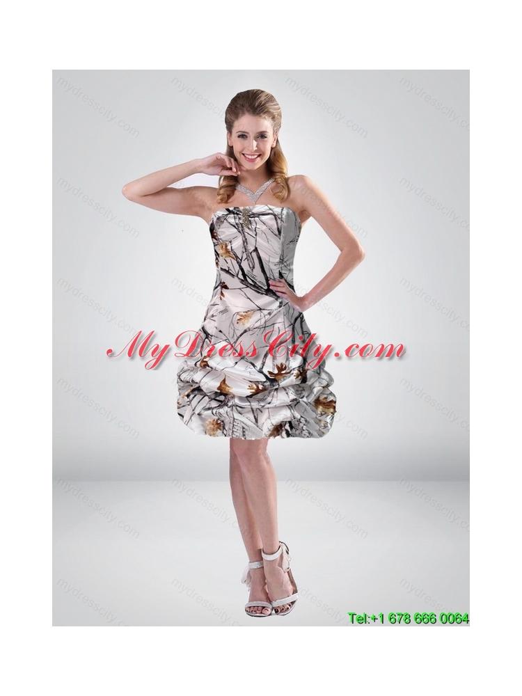 321ce3e63be Turmec » camo short strapless prom dress