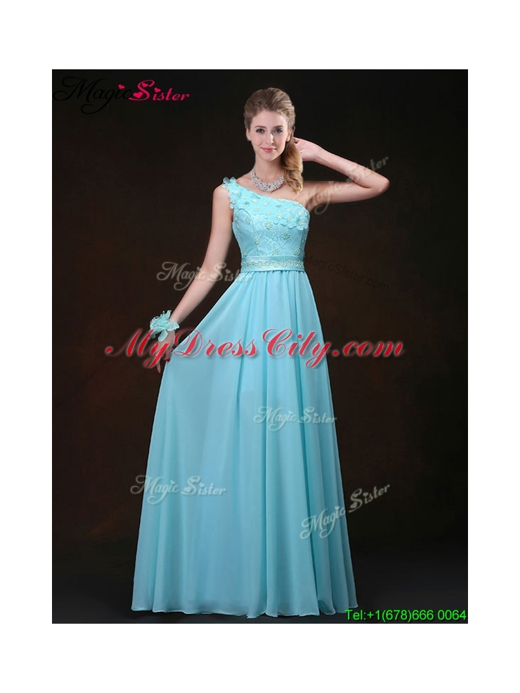 2016 inexpensive empire one shoulder bridesmaid dresses for Average wedding dress cost 2016