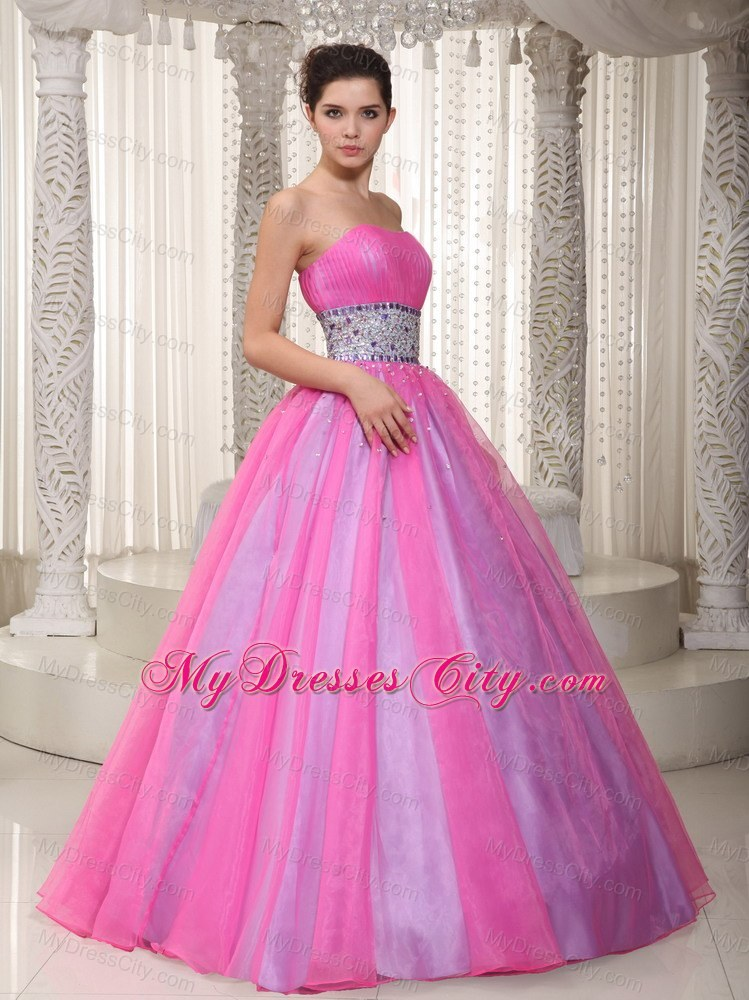 cheap hot pink princess prom dresses_Prom Dresses_dressesss