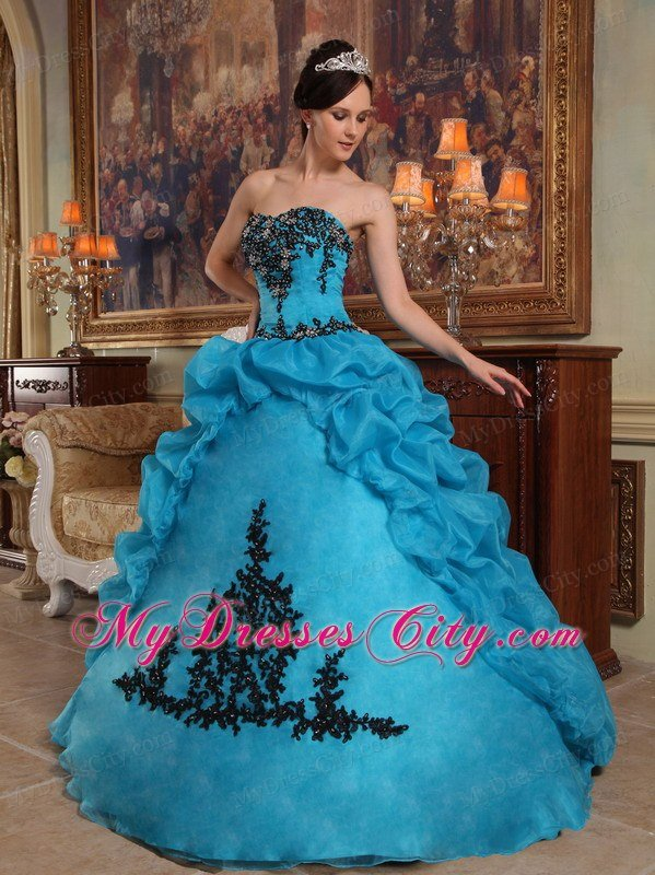 Teal Quinceanera Dresses 2013 2013 Popular Teal Stra...