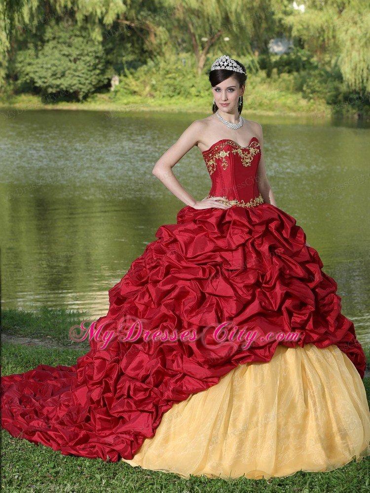Long quinceanera dresses