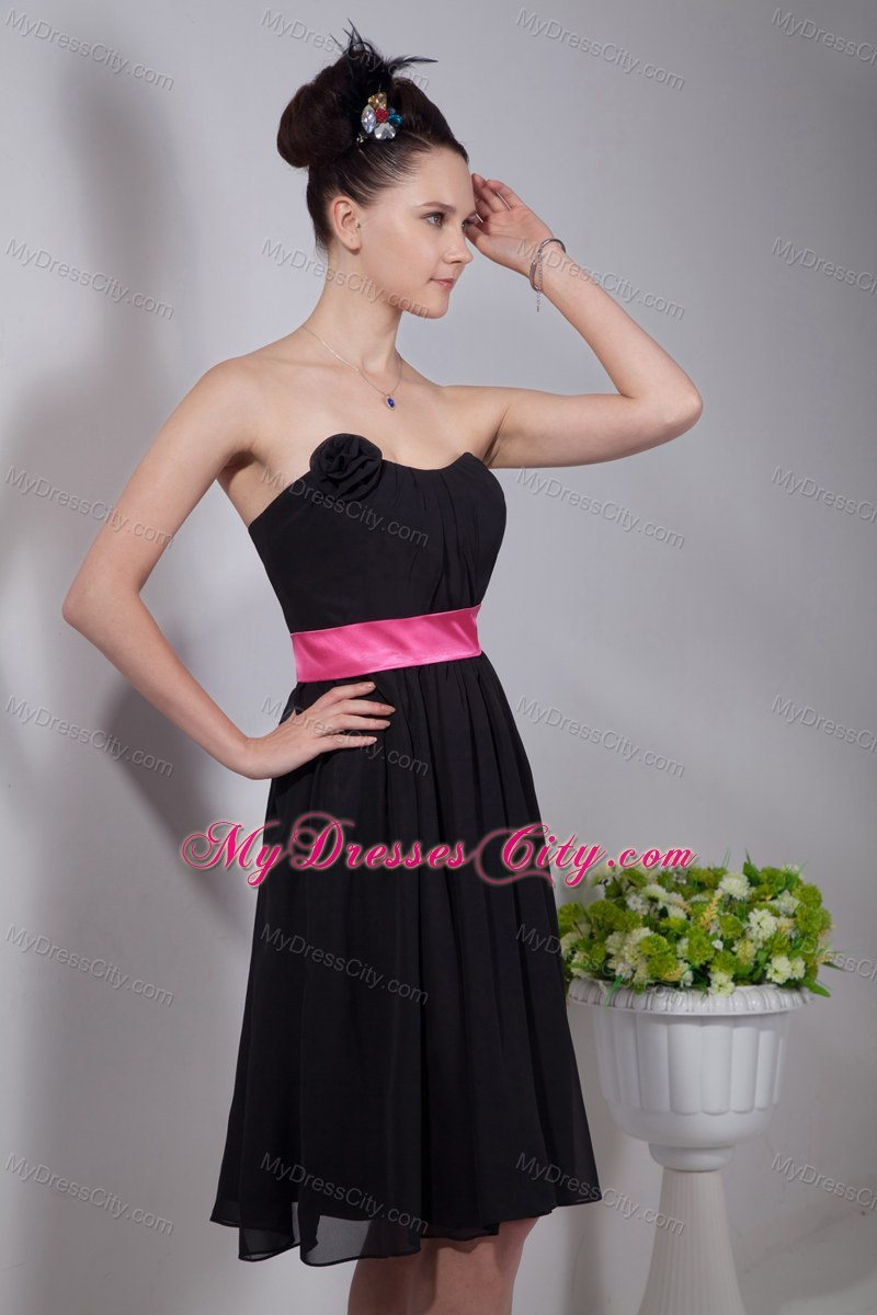 Black And Pink Wedding Dresses