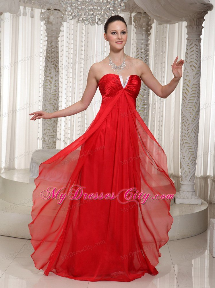 Red Dresses  Red Lace Long Short Party amp A Line Dress