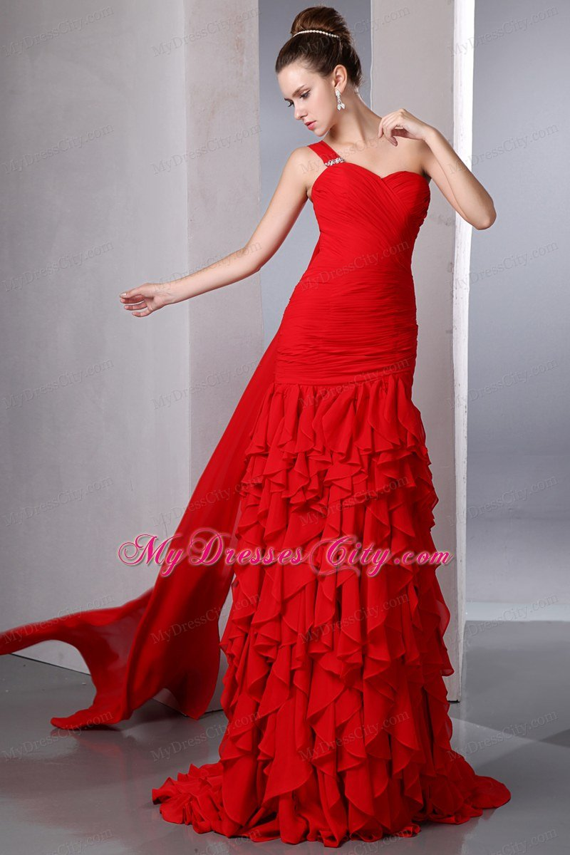Images of Long Red Dresses For Juniors - Reikian
