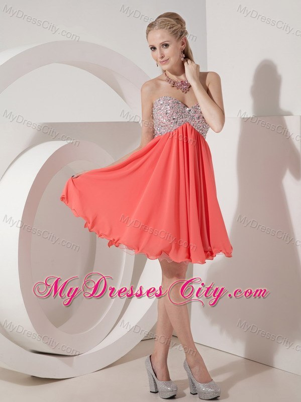 Beading Mini-length Cool Back Homecoming Cocktail Dress