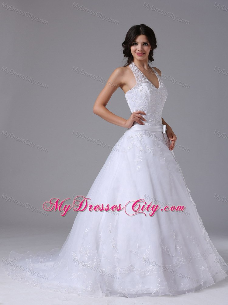 used wedding rental dress store