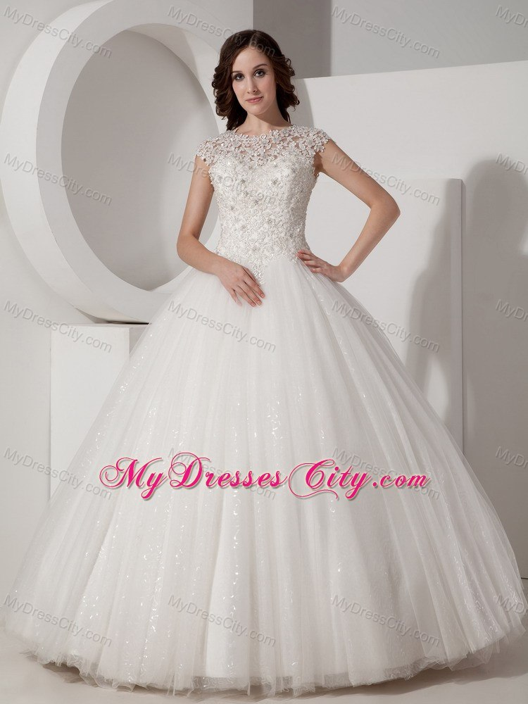 Vintage Ball Gown Wedding Dresses,Discount Modest Ball Gown ...