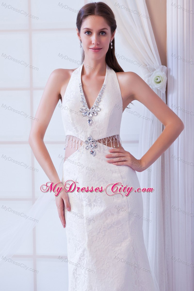 Wedding Dresses with Sides Cut Out