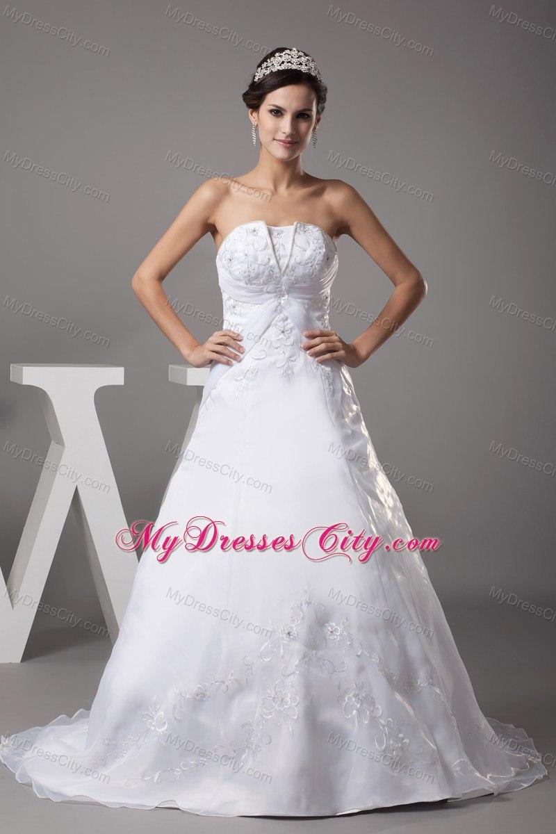 Turmec » non strapless wedding dresses 2013