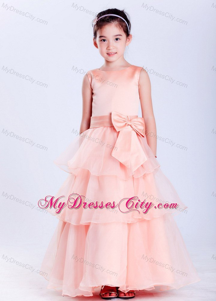 Design Dresses Online For Girls Scoop Flower Girl Dress