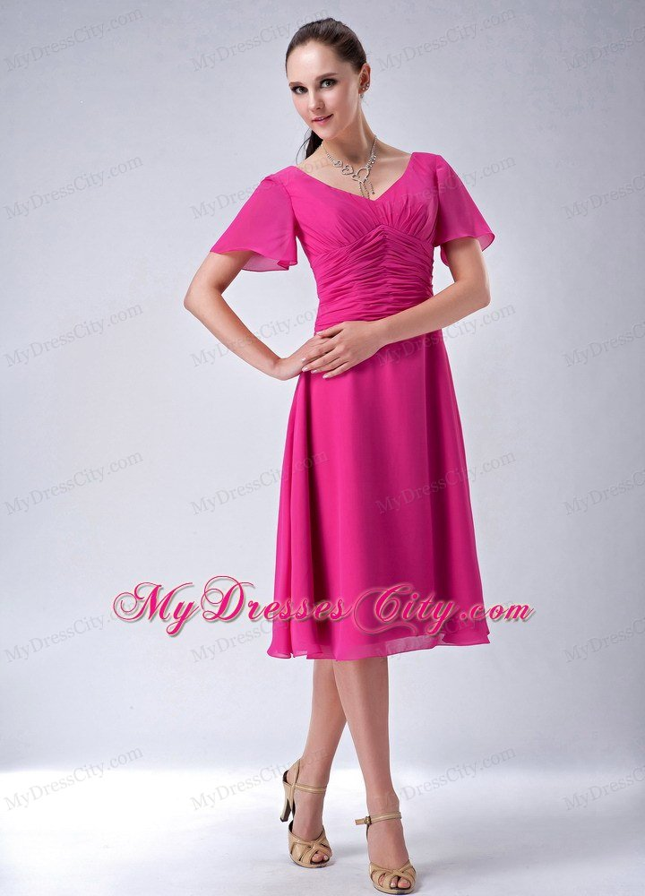 Mother Of The Bride Dresses Plus Size Tea Length