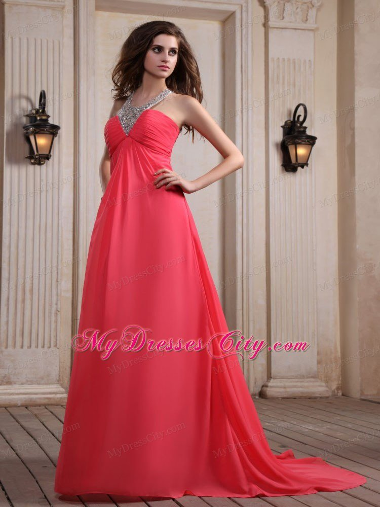 Halter Dress Red Carpet Dress For Red Carpet