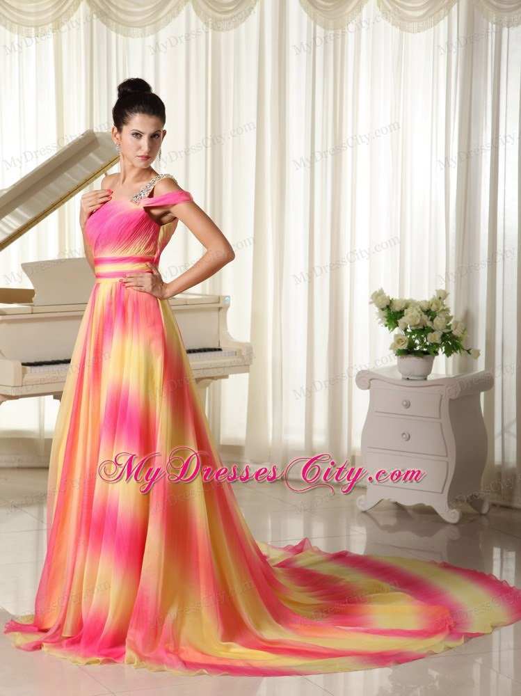 maxi dress with train