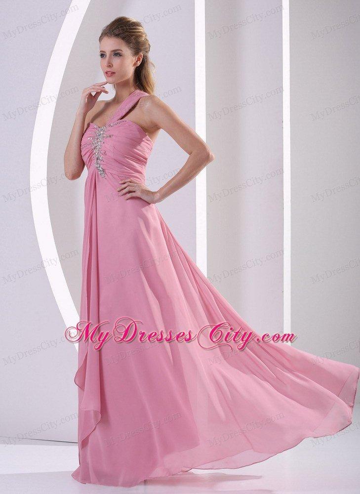 Rose Pink Prom Dresses