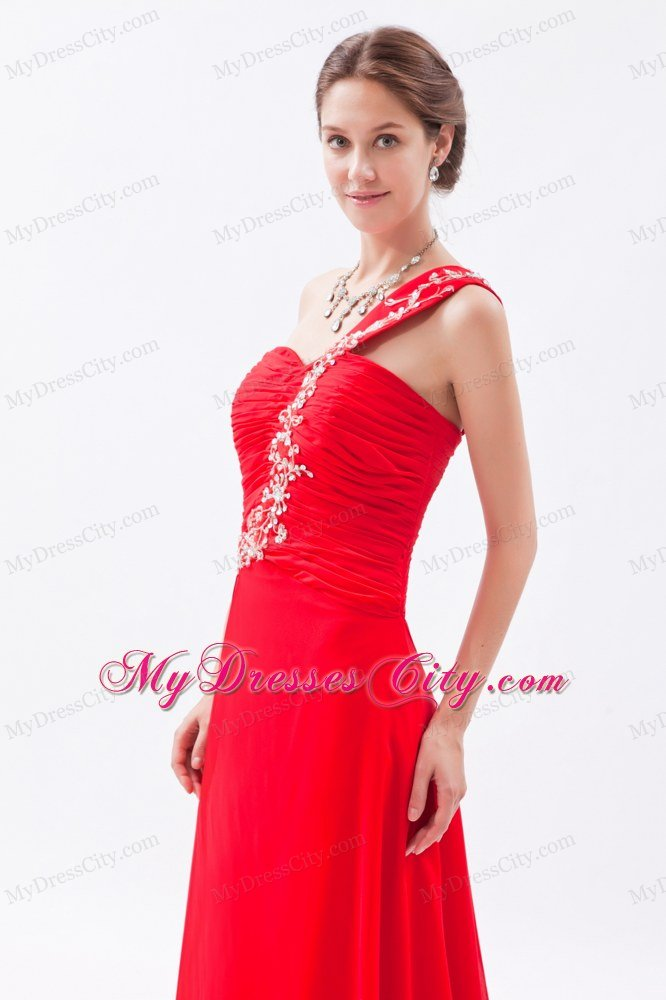 red one shoulder homecoming dress « Bella Forte Glass Studio