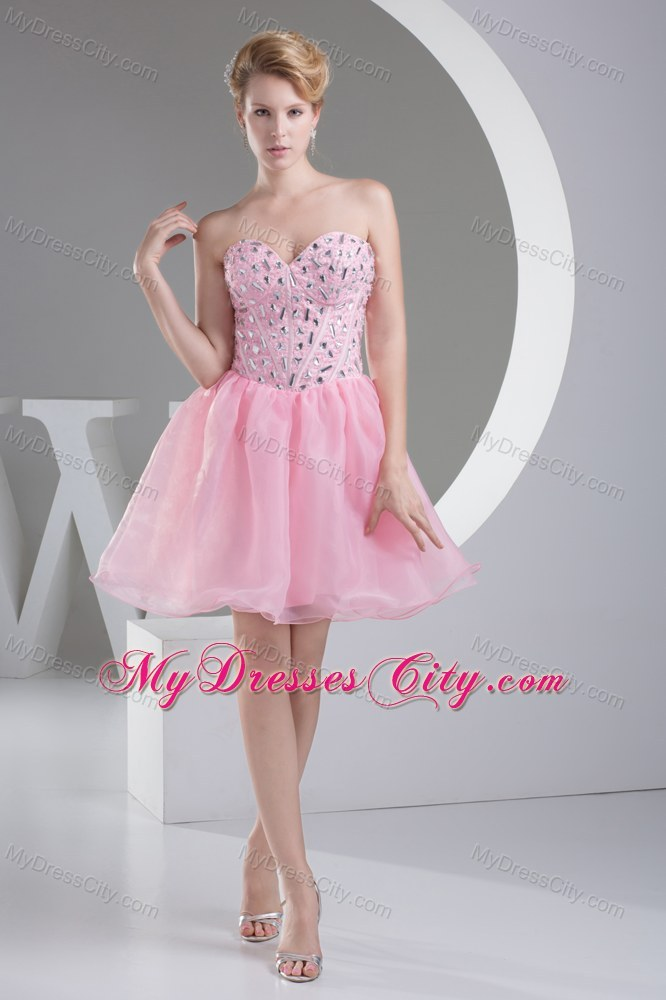 Light Pink Homecoming Dresses Short - Formal Dresses